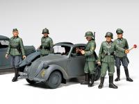 Simca 5 Staff Car - German Army (Vista 12)