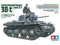 German Light Tank Panzerkampfwagen 38(t) Ausf.E/F (Vista 9)