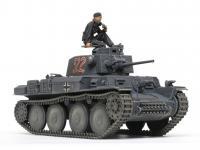 German Light Tank Panzerkampfwagen 38(t) Ausf.E/F (Vista 12)