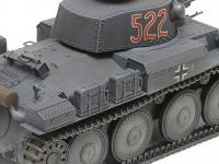 German Light Tank Panzerkampfwagen 38(t) Ausf.E/F (Vista 16)