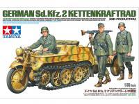 German Sd.Kfz.2 Kettenkraftrad (Vista 6)