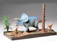 Diorama del Triceratops (Vista 4)