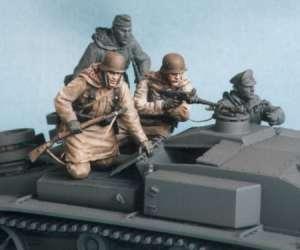 German panzergrenadieren SS. Kharkow  (Vista 1)