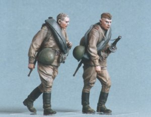 Infanteria Sovietica. Kursk 1943.  (Vista 2)