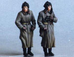 Soviet tank crew. Winter 1941-42. Two fi  (Vista 2)
