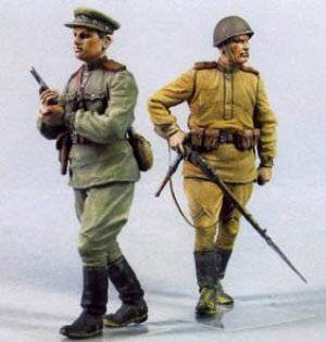 Infanteria Rusa. Verano 1943-45.  (Vista 2)