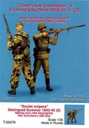 Francotiradores Rusos. Stalingrad Verano  (Vista 1)