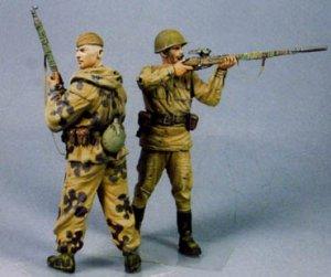 Francotiradores Rusos. Stalingrad Verano  (Vista 2)
