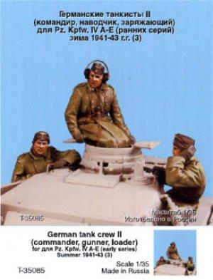Tanquistas Alemanes II. Invierno 1941-43  (Vista 1)
