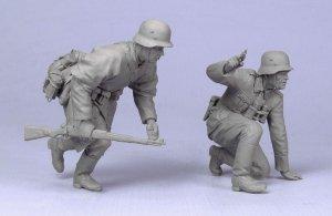 Oficial y soldado Aleman  (Vista 2)