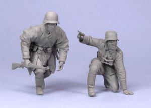 Oficial y soldado Aleman  (Vista 3)