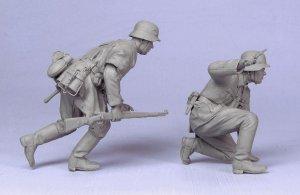 Oficial y soldado Aleman  (Vista 4)