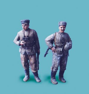 Exploradores del ejército Rojo.   (Vista 1)