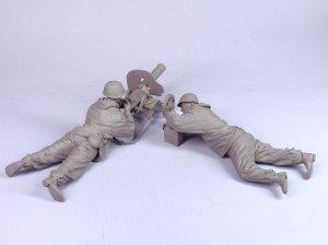 Soldado de infantería con ametralladora   (Vista 4)