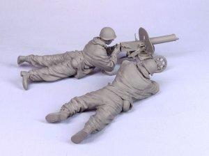 Soldado de infantería con ametralladora   (Vista 5)