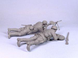 Infantería soviética con ametralladora   (Vista 5)