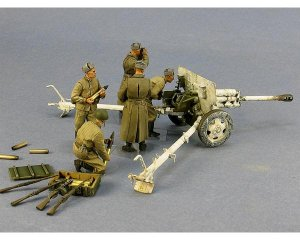 Soviet artillery crew II Winter 1941-43  (Vista 3)