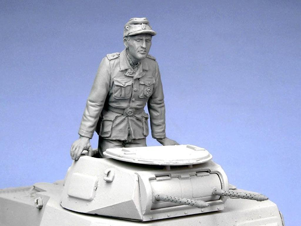 Oficial tanquista Aleman. Afrika Corps 1941. (Vista 4)