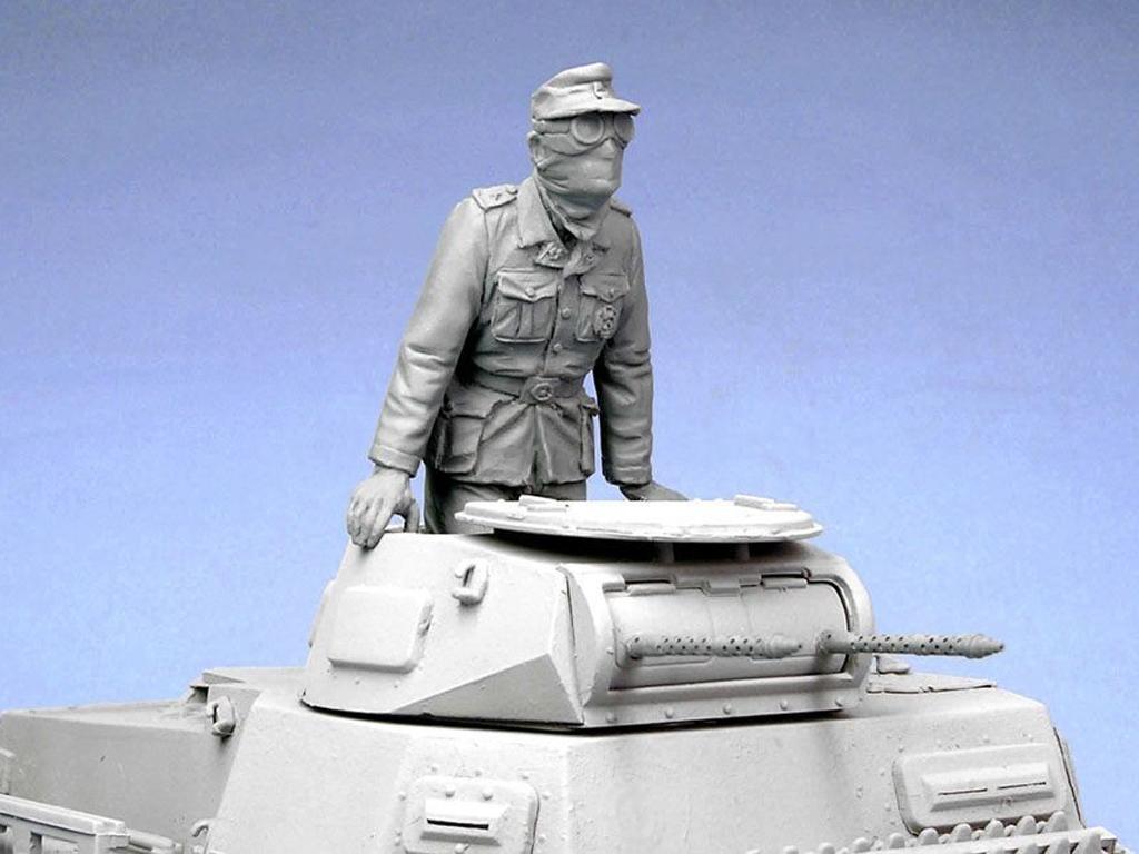 Oficial tanquista Aleman. Afrika Corps 1941. (Vista 7)