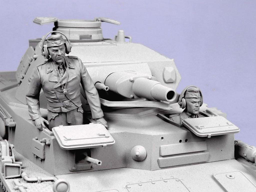 Tanquistas Alemanes. Verano  1941-43. (Vista 3)
