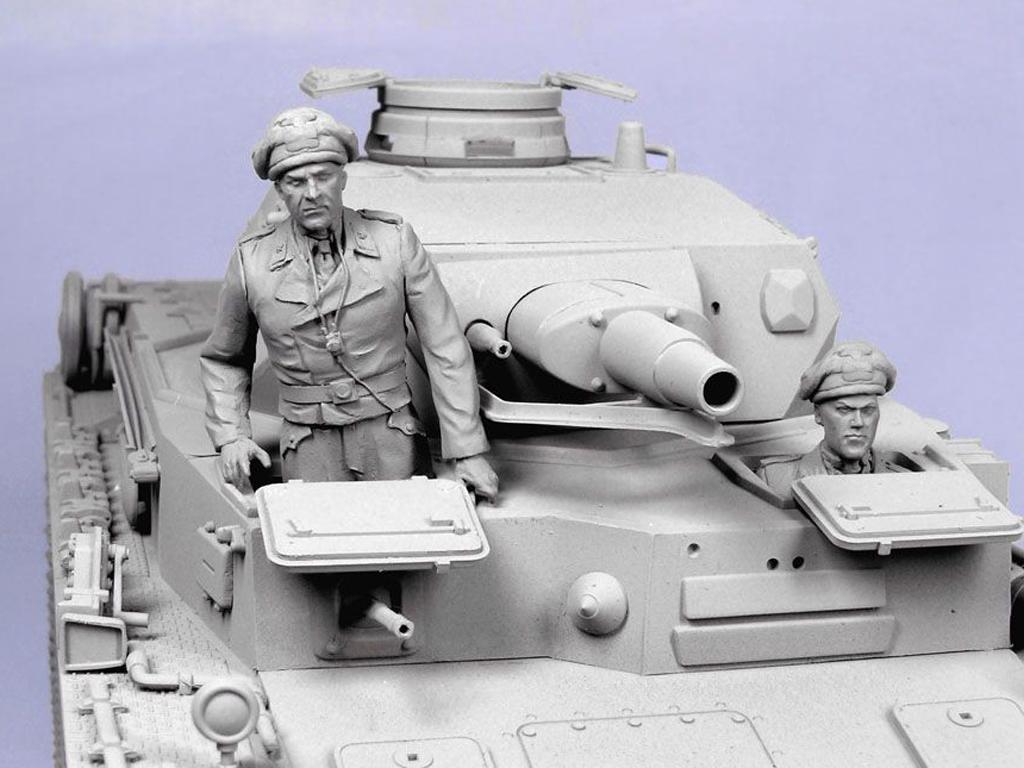 Tanquistas Alemanes. Verano  1941-43. (Vista 5)