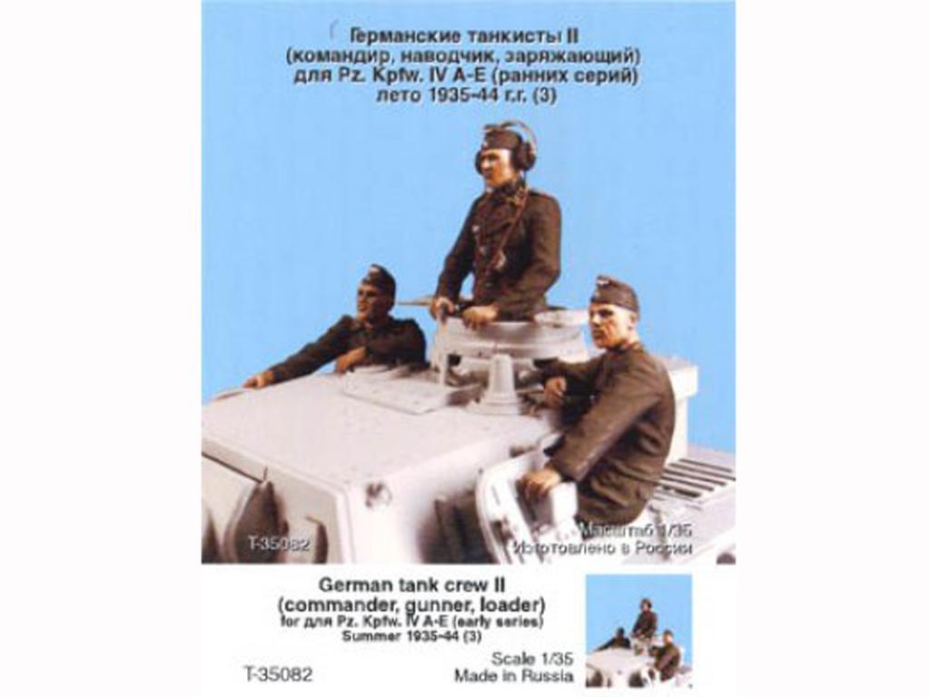Tripulacion Alemana Tanque Verano 1935-4 (Vista 1)