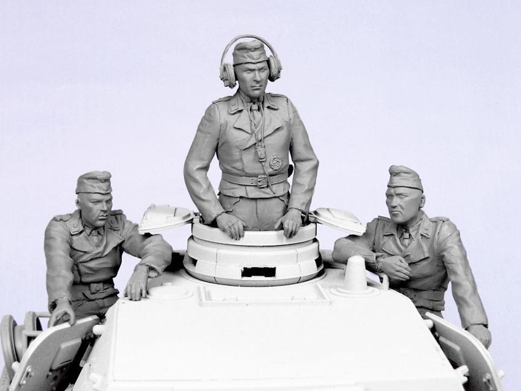 Tripulacion Alemana Tanque Verano 1935-4 (Vista 3)