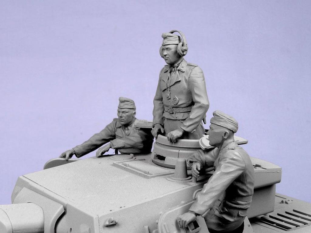 Tripulacion Alemana Tanque Verano 1935-4 (Vista 4)
