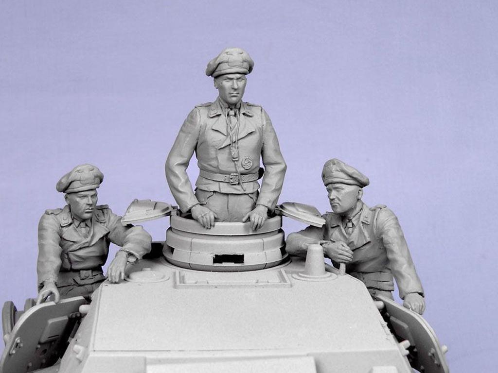 Tripulacion Alemana Tanque Verano 1935-4 (Vista 6)