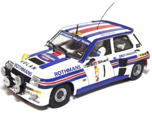Renault 5 Turbo Rothmans Danube Rally 19  (Vista 1)