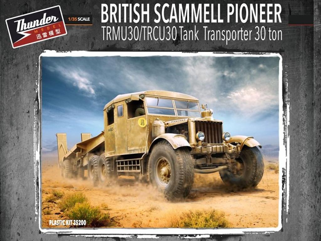 Scammel Pioneer TRMU30/TRCU30  Tank Tran - Ref.: THUN-35200