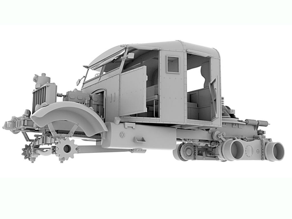Scammel Pioneer TRMU30/TRCU30  Tank Tran  (Vista 13)