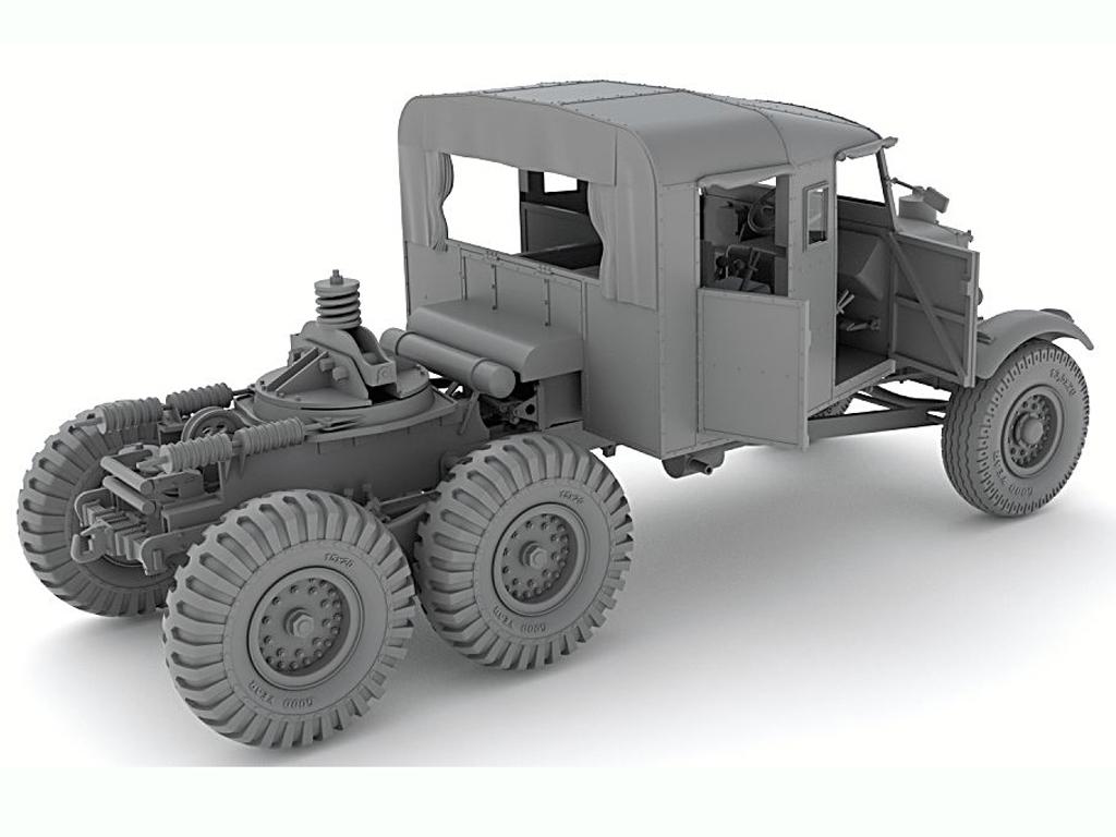 Scammel Pioneer TRMU30/TRCU30  Tank Tran  (Vista 5)