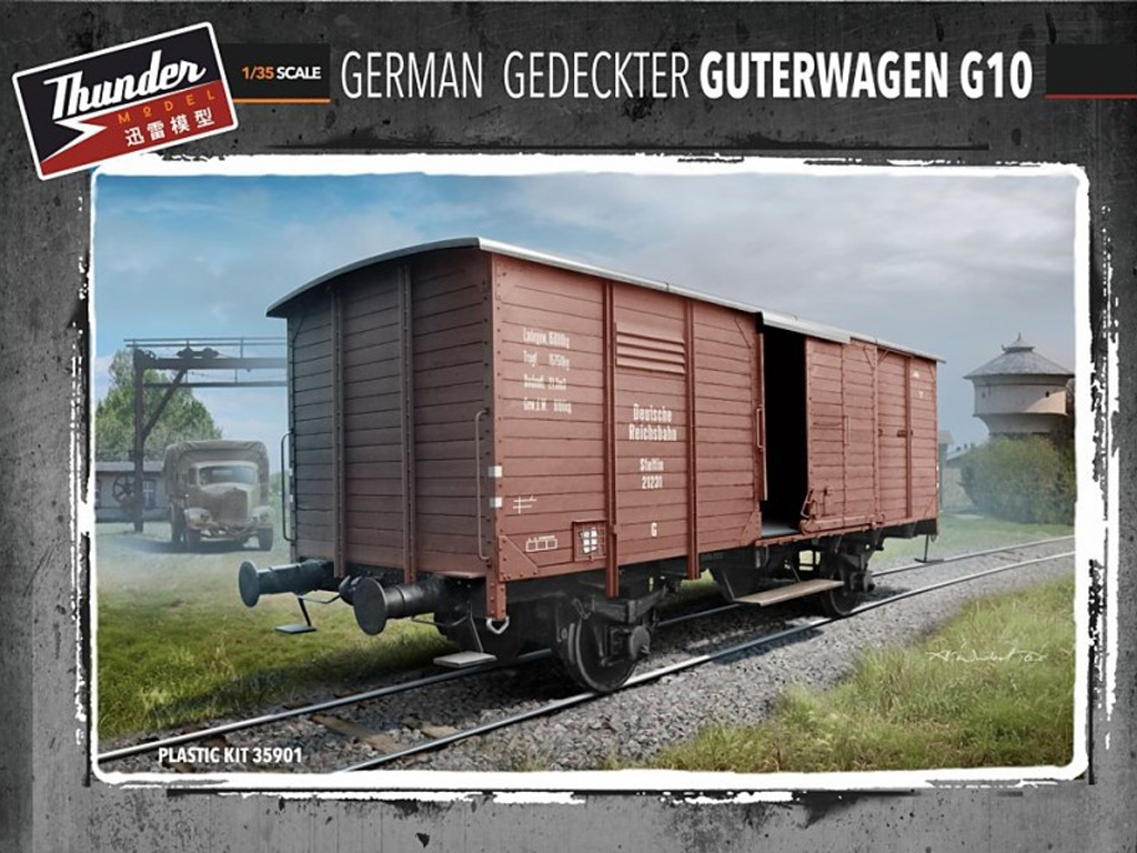 Vagon Alemán de carga G10 - Ref.: THUN-35901