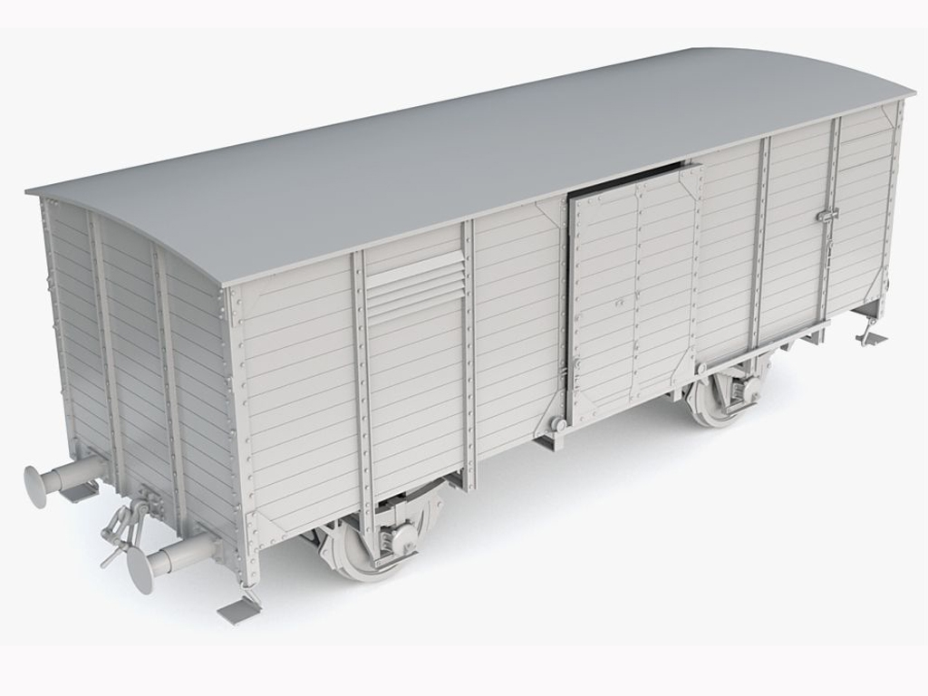 Vagon Alemán de carga G10  (Vista 2)