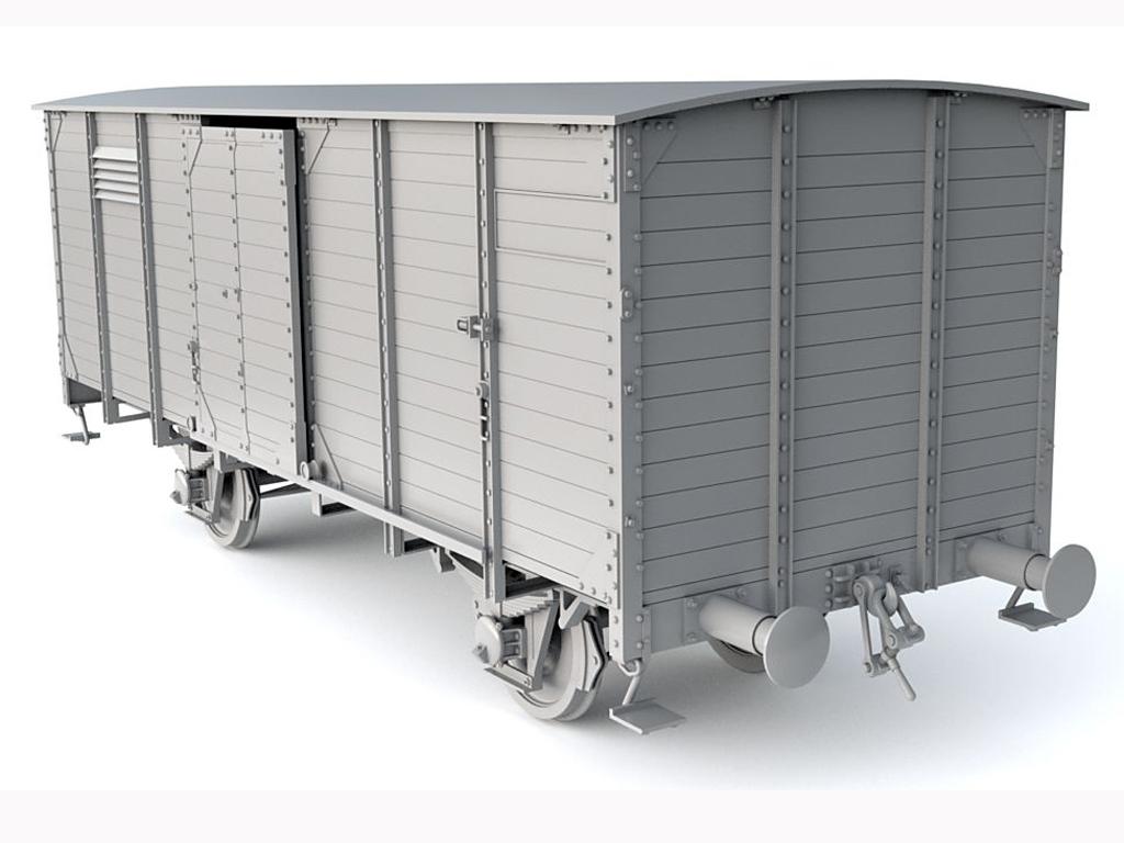 Vagon Alemán de carga G10  (Vista 3)