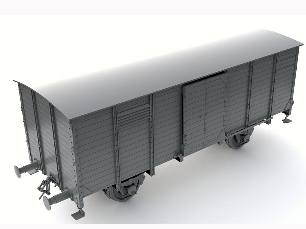 Vagon Alemán de carga G10  (Vista 4)