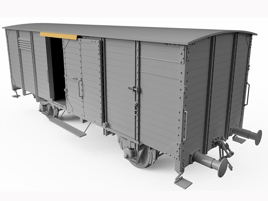 Vagon Alemán de carga G10  (Vista 5)