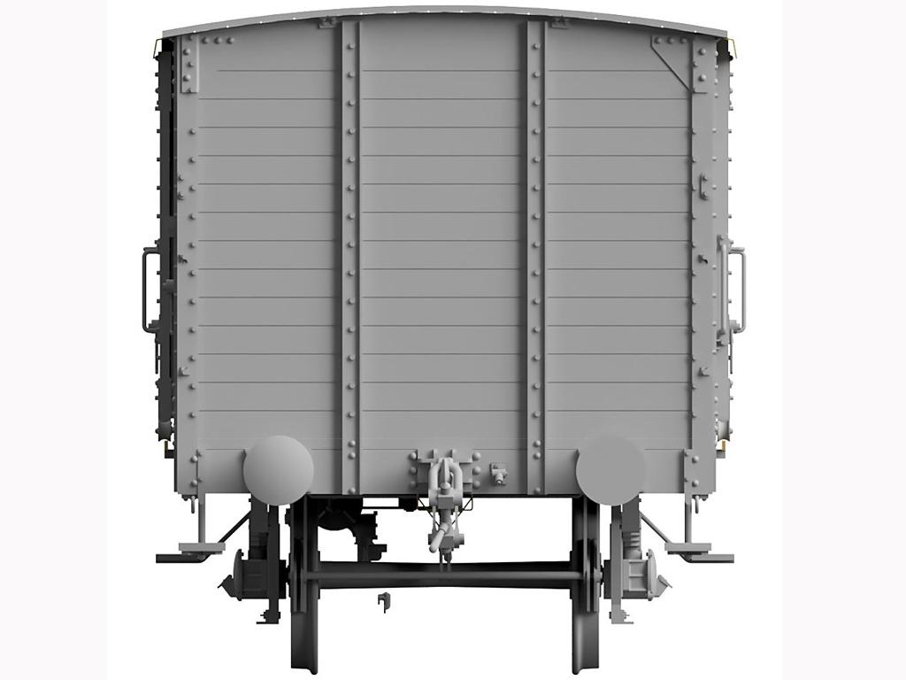 Vagon Alemán de carga G10  (Vista 6)