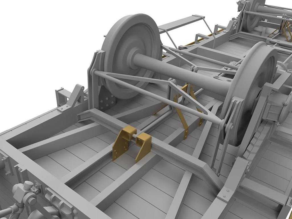 Vagon Alemán de carga G10  (Vista 8)