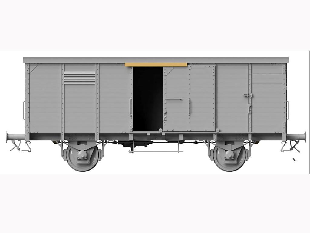 Vagon Alemán de carga G10  (Vista 9)