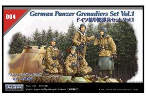 German Panzer Grenadiers Set - Ref.: TRIS-35004