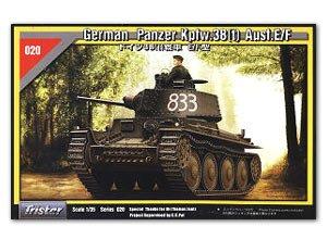 German Panzer Kpfw.38(t) Ausf.E/F - Ref.: TRIS-35020