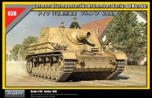 German Sturmpanzer IV Brummbar Early Sd. - Ref.: TRIS-35038