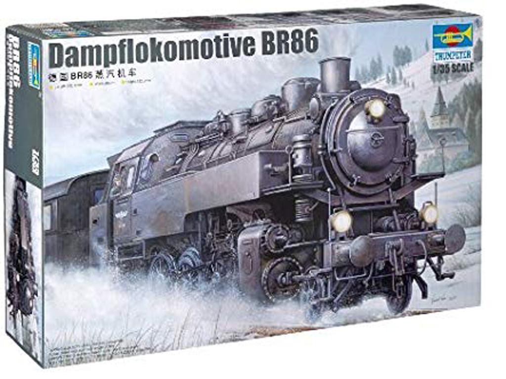 Locomotora Alemana BR86 2ªG.M. - Ref.: TRUM-00217