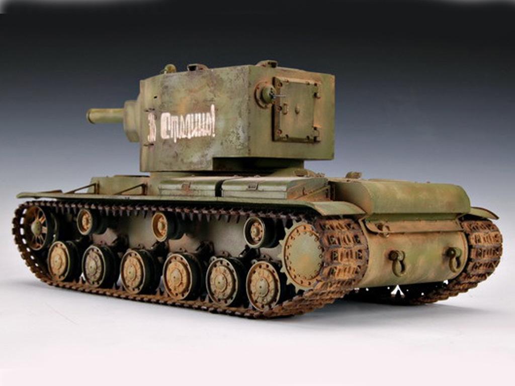 KV-2 Russian Tank  (Vista 3)