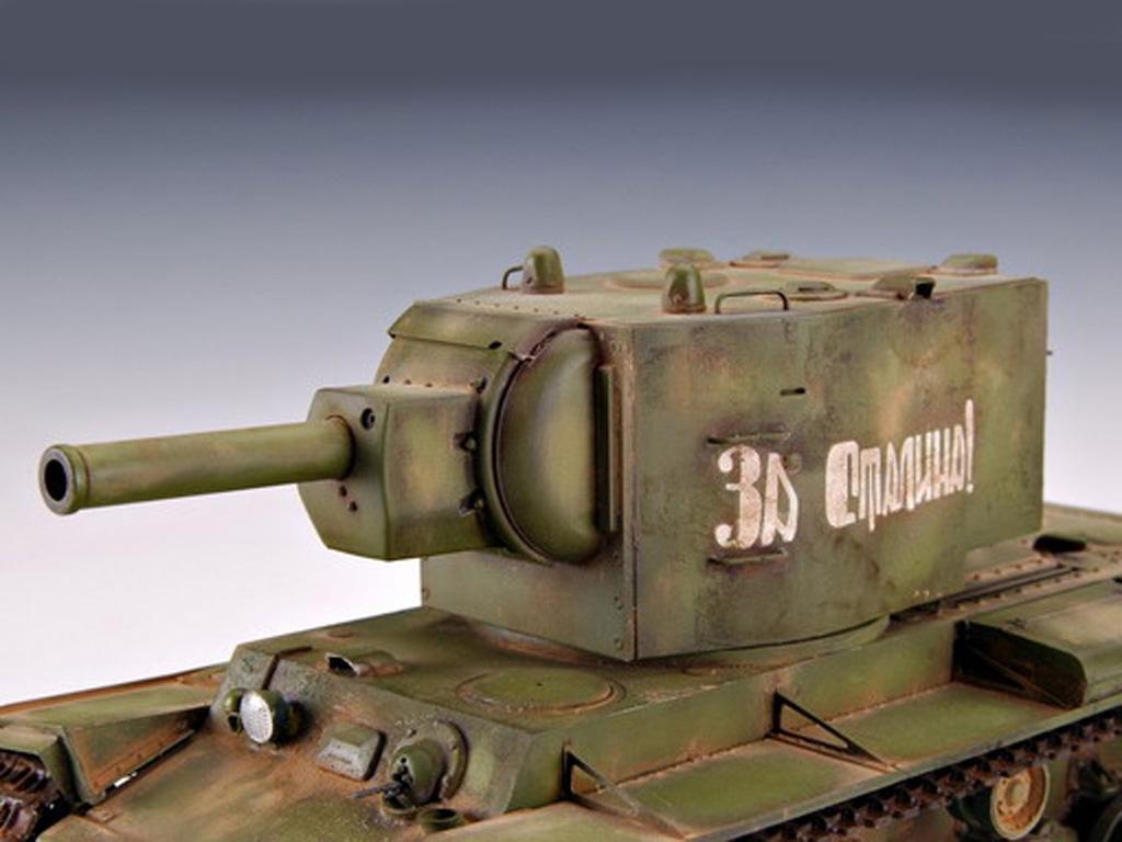 KV-2 Russian Tank  (Vista 8)
