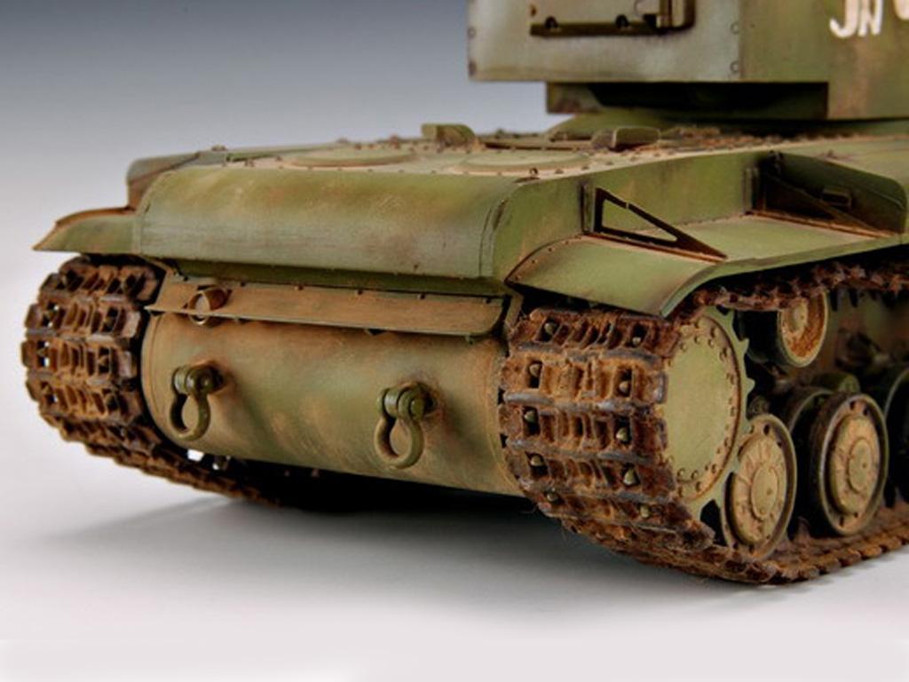 KV-2 Russian Tank  (Vista 9)