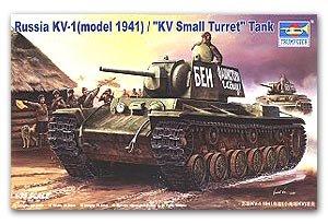 Tanque Sovietico KV1 Modelo de 1941 - Ref.: TRUM-00356