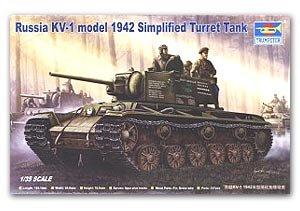 Russia KV1 Modelo 1942 - Ref.: TRUM-00358